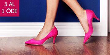 Versace 19.69 Kadın Ayakkabıda Tek Fiyat ve 3 Al 1 Öde