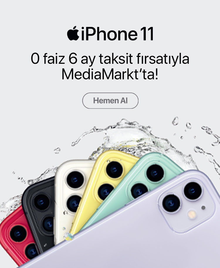 Iphone 11 Media Markt'ta!