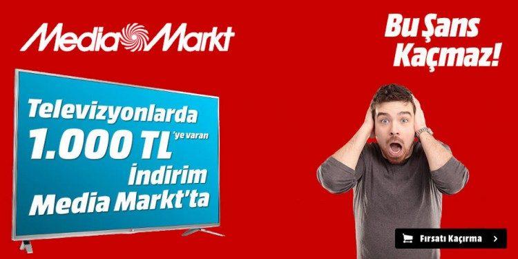 1000 TL Media Markt İndirim Kuponu