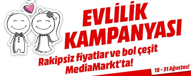 MediaMarkt Evlilik Kampanyası
