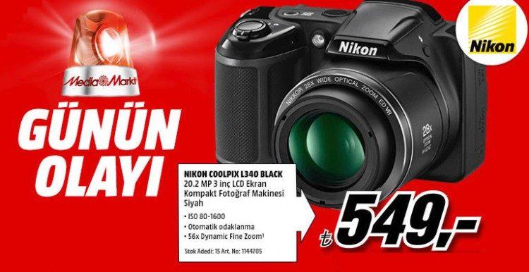 Günün Olayı: Nikon Coolpix L340 Fotoğraf Makinesi