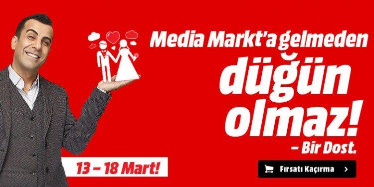 Media Markt'a Gelmeden Düğün Olmaz
