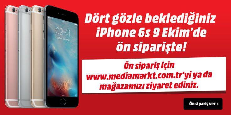 iPhone 6s ve iPhone 6s Plus Ön Siparişi Başladı!
