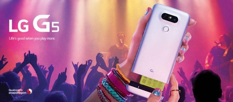 LG G5 İçin Ücretsiz Ön Kayıt Başladı