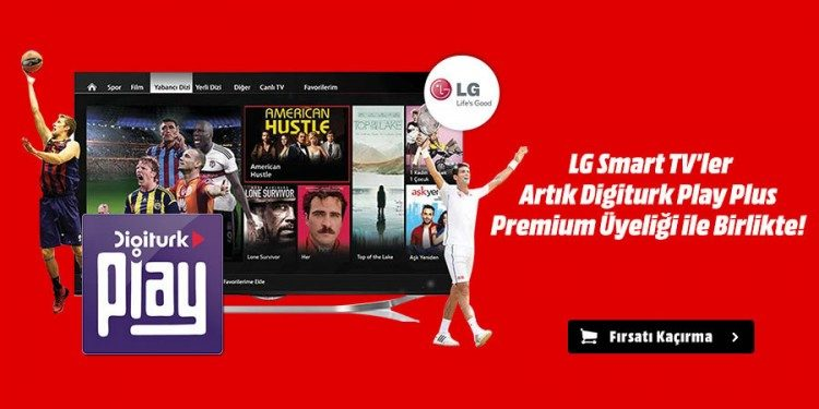 LG Smart TV'ler 6 Ay Digiturk Hediyeli