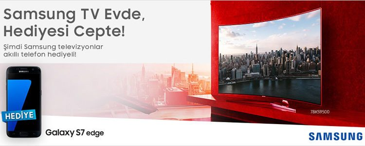 Samsung TV Alana Akıllı Telefon Hediye!