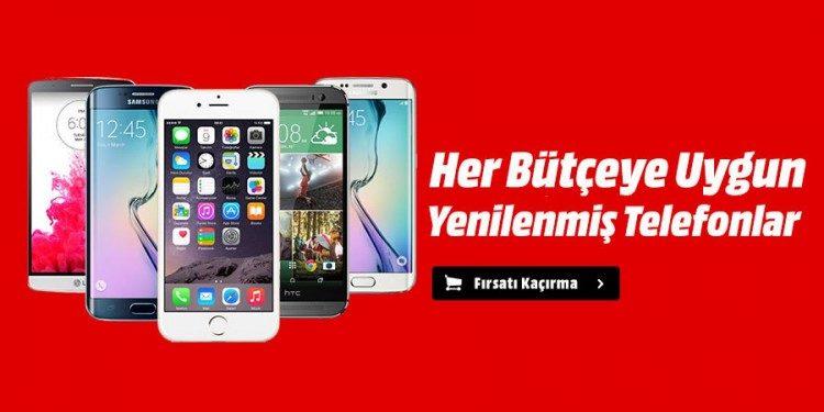 Yenilenmiş, Garantili Cep Telefonları Media Markt'ta!