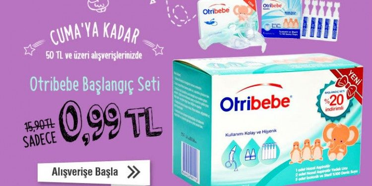 Otribebe Başlangıç Seti 0,99 TL!