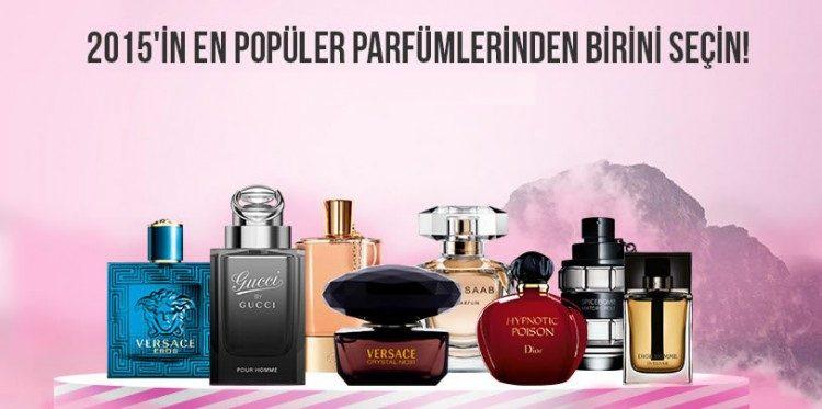 2015'in Popüler Parfümlerinde Özel İndirim
