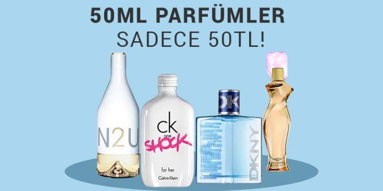 50 ml Parfümler 50 TL, Kargo Bedava