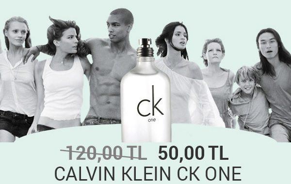 Calvin Klein CK One Parfüm'de Özel İndirim