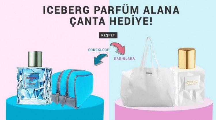 Iceberg Parfüm Alana Çanta Hediye