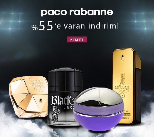 Paco Rabanne Parfümlerde MissPera İndirimi