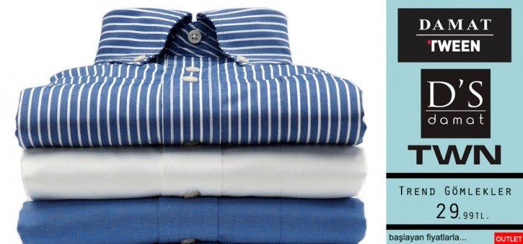 29,99 TL'den Başlayan Fiyatlarla İndirimli Gömlekler