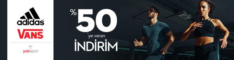 Adidas & Vans'ta %50'ye Varan İndirim!