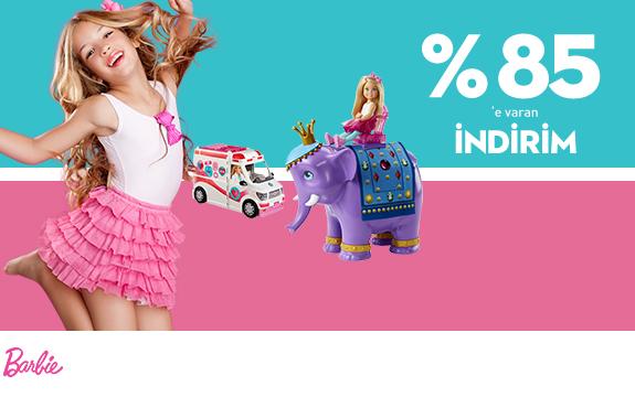 Barbie Ürünlerinde %85' Varan İndirim!