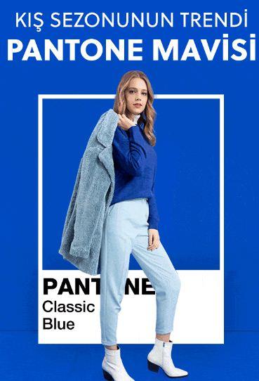 Kış Sezonunun Trendi Pantone Mavisi
