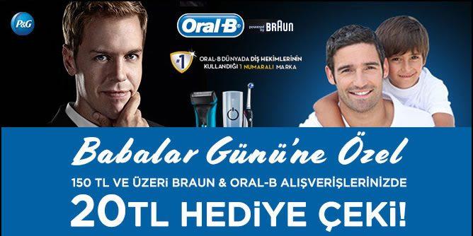 Braun ve Oral-B Ürünleri 20 TL Morhipo Hediye Çeki Kazandırıyor