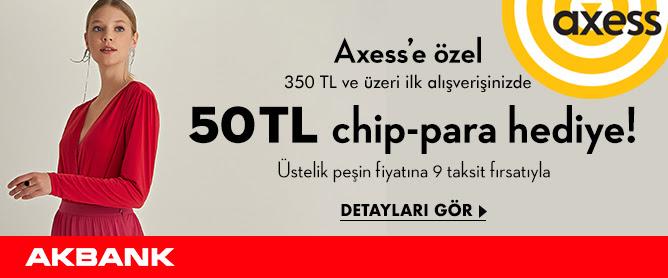 Axess'e Özel 50 TL chip-para Hediye!