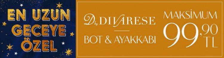 Divarese Bot ve Ayakkabı Maksimum 99,90 TL!