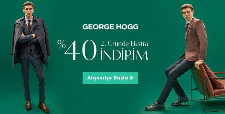 George Hogg Sezonda %50 İndirim