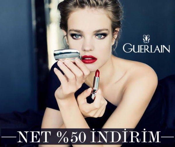 Guerlain Ürünlerinde %50 Morhipo İndirimi