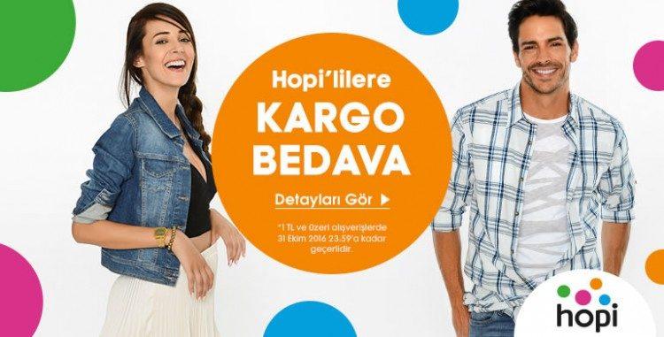 Hopi'yle Kargo Bedava!