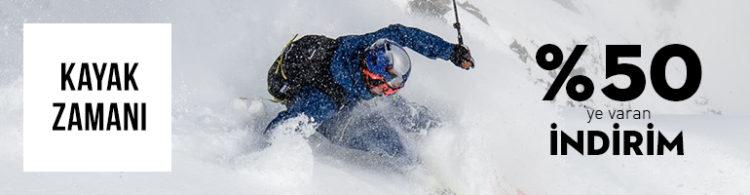 Kayak Malzemelerinde %50'ye Varan İndirim!