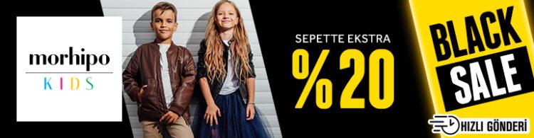 Morhipo Kids'te Sepette Ekstra %20 İndirim!
