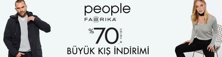 People by Fabrika %70 İndirimli