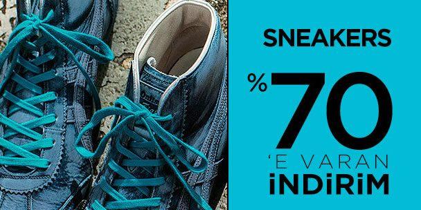 Büyük Sneakers İndirim Kampanyası