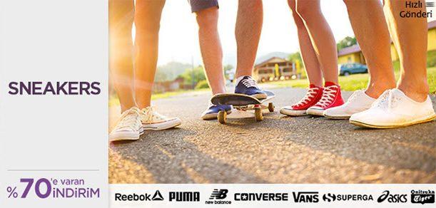 Sneakers İndirim Kampanyası