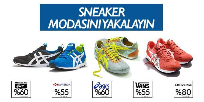 Yeni Modellerle Sneakers İndirim Kampanyası