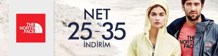The North Face Ürünlerinde Net %35 İndirim