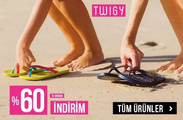 Twigy Plaj Terliklerinde %60 Morhipo İndirimi