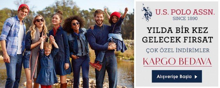 U.S. Polo Assn. Ürünlerinde Yılın İndirimi