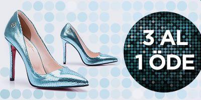 Versace 19.69 Kadın Ayakkabıda Tek Fiyat ve 3 Al 1 Öde Fırsatı