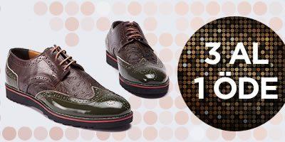 Versace 19.69 Erkek Ayakkabıda Tek Fiyat ve 3 Al 1 Öde Fırsatı
