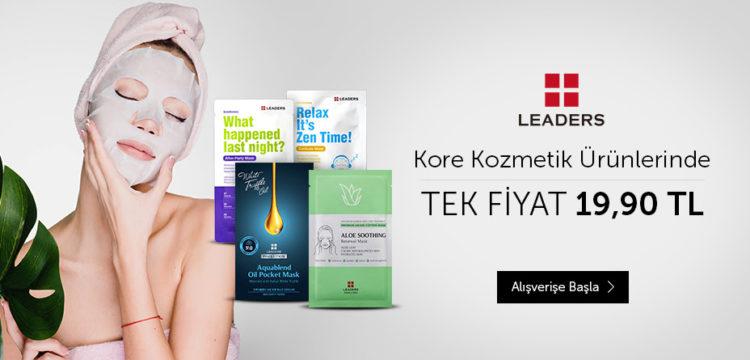 Kore Kozmetik Ürünlerinde Tek Fiyat 19.90 TL!
