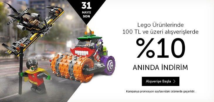 %10 Lego İndirim Kampanyası