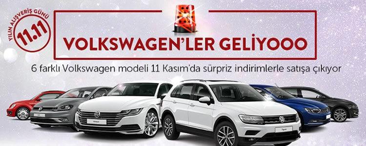 Yılın Alışveriş Gününde Şok Fiyatla Volkswagen