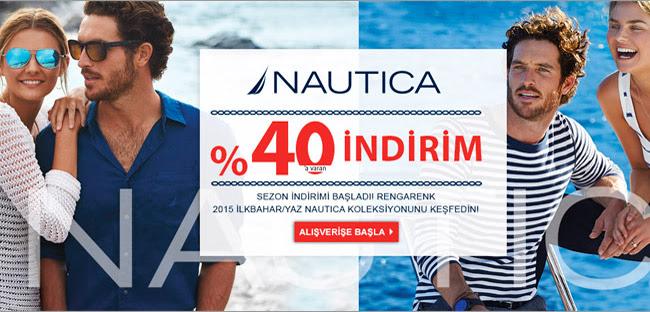 %40 Nautica Sezon İndiriminde Son Günler