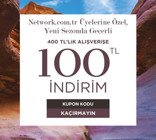 100 TL NetWork İndirim Kuponu
