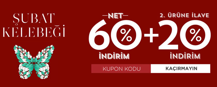 NetWork Kelebek İndirim Kodu: %60 + %20