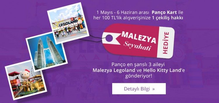 Ailece Malezya Legoland ve Hello Kitty Land Seyahati Kazanın