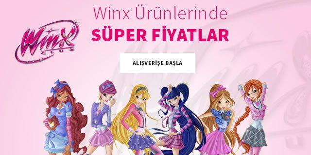 Winx Ürünlerinde Süper Fiyatlar