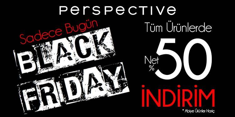 Tüm Ürünlerde %50 Black Friday İndirimi