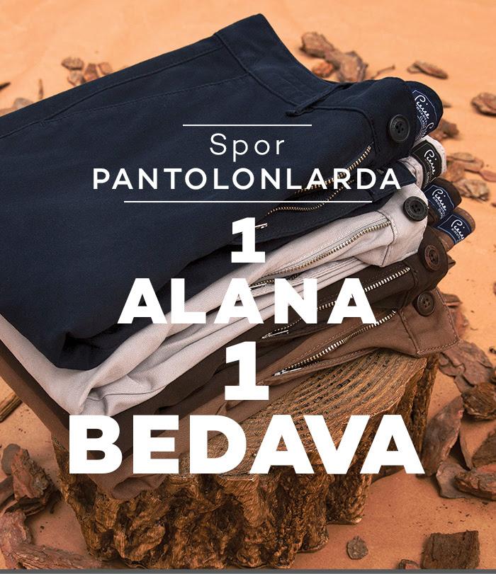 Pierre Cardin Spor Pantolonlarda 1 Alana 1 Bedava!