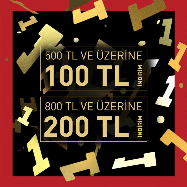 Puma'da 200 TL'ye Varan 11.11 İndirimleri!