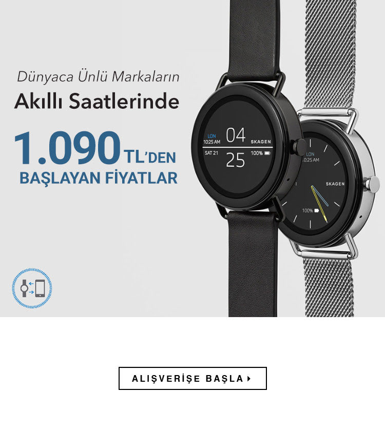 Akıllı Saatler 1.090 TL'den Başlayan Fiyatlarla!